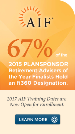 2016 AIF Training Dates