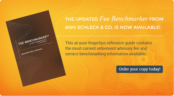 Ann Schleck & Co. Fee Benchmarker Fee Almanac